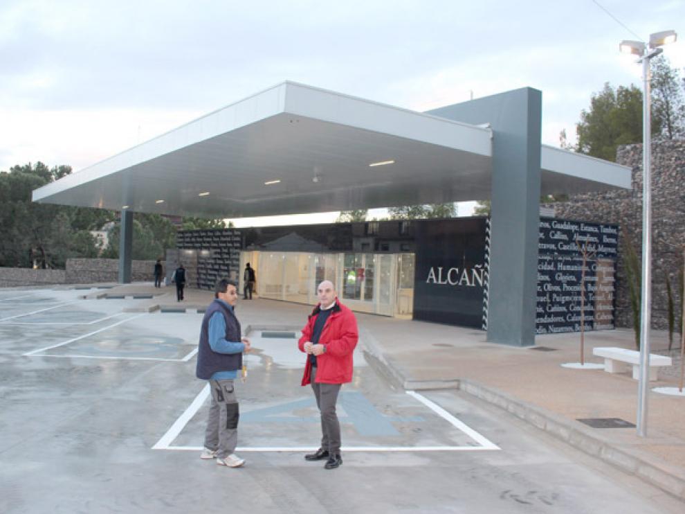 Nueva estación de autobuses de Alcañiz (Teruel)