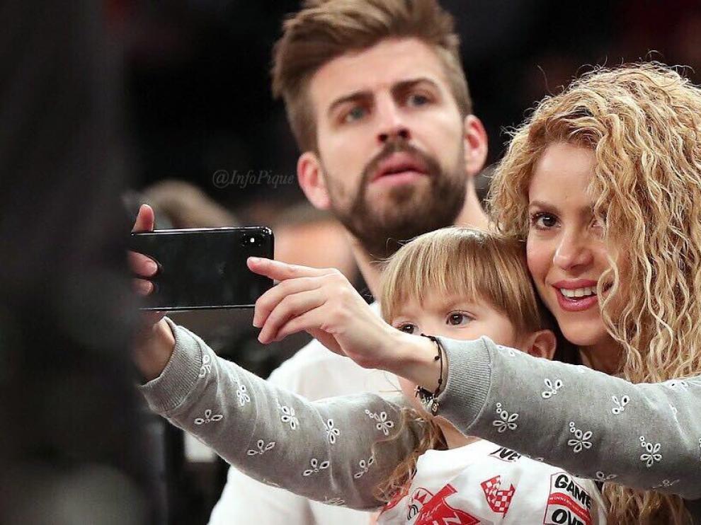 Gerard Piqué y Shakira durante unas vacaciones en Nueva York.