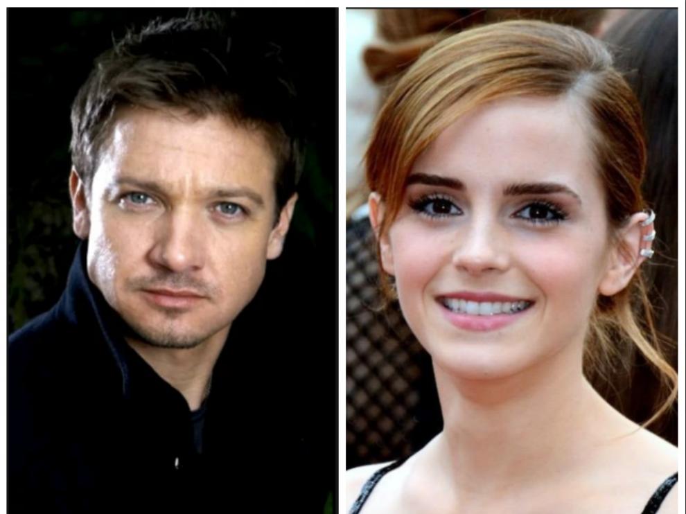 Jeremy Renner y Emma Watsoon, los actores más rentables de Hollywood