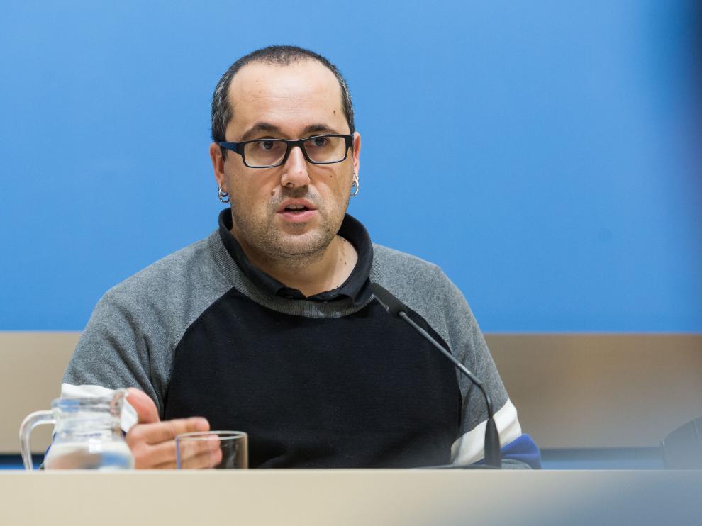 Alberto Cubero, concejal de Servicios Públicos del Ayuntamiento de Zaragoza