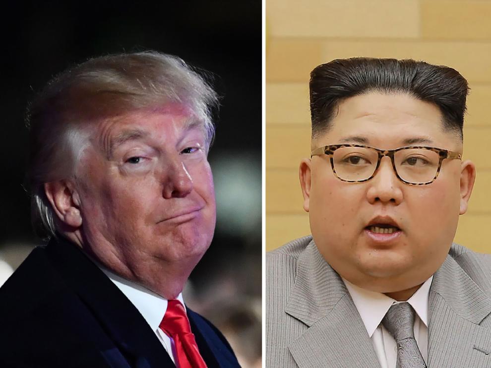 """Trump, a Kim Jong-un: """"Tengo un botón nuclear mucho más grande"""""""
