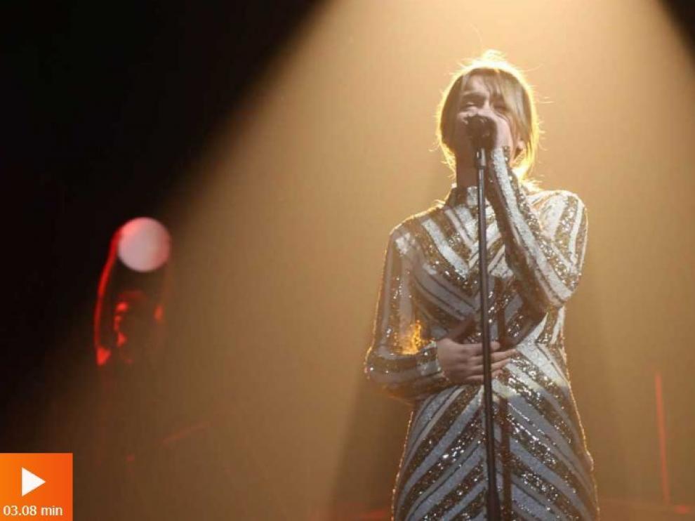 Amaia canta 'Shake it out' en la Gala 9 de OT.