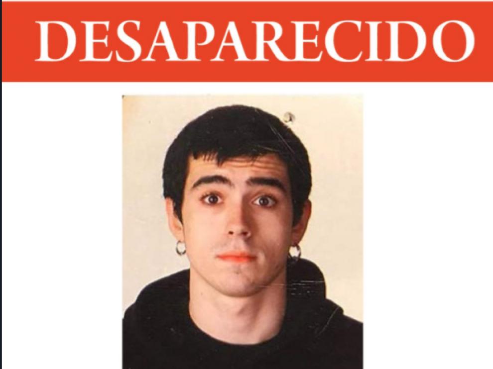Jon Bárcena, desaparecido en el Gorbea