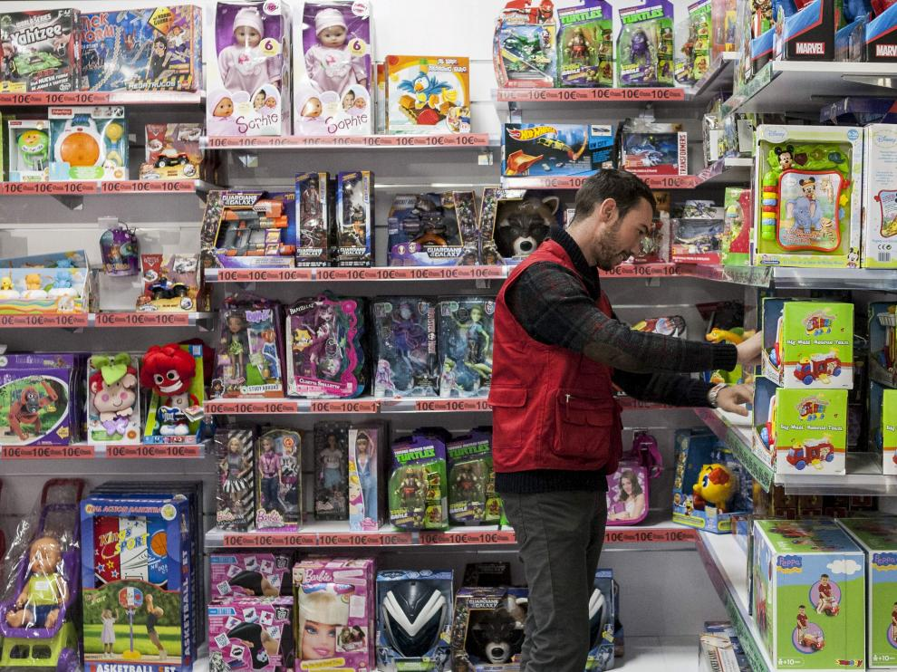 Una tienda de juguetes de Zaragoza
