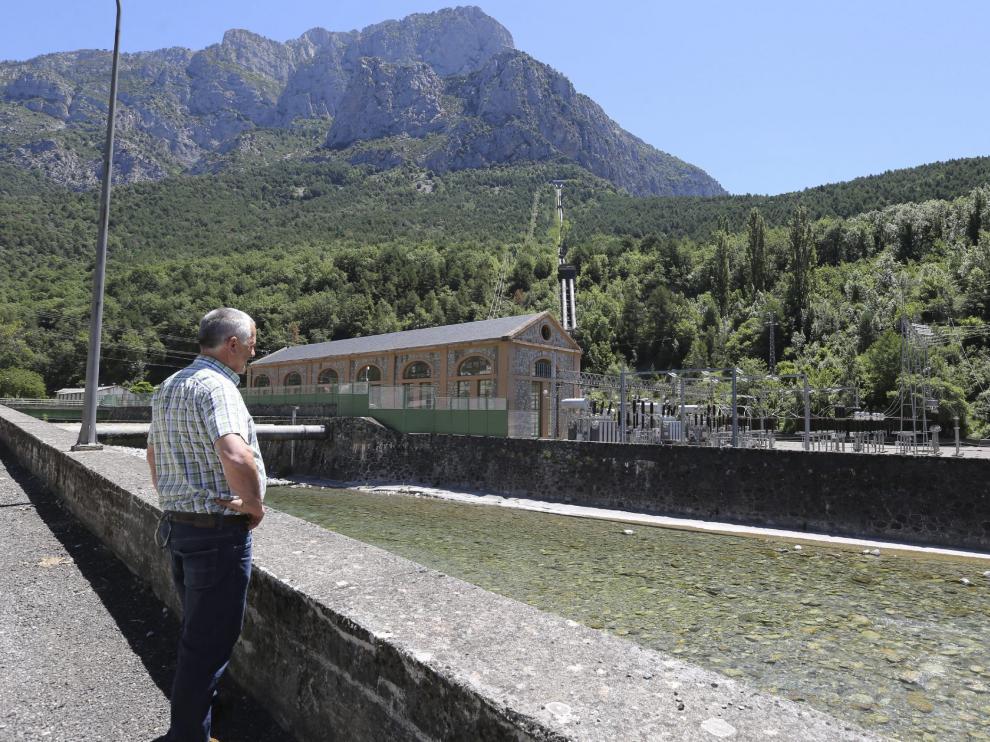 Central hidroeléctrica de Lafortunada-Cinqueta, en el Sobrarbe