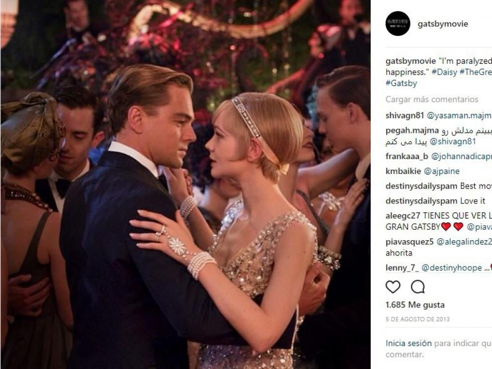 A pesar de contar con intérpretes de la talla de Leonardo Dicaprio y Carey Mulligan, 'El Gran Gatsby' (2013) resultó un fracaso al carecer de ritmo y excederse mostrando una parafernalia y estética pomposas.