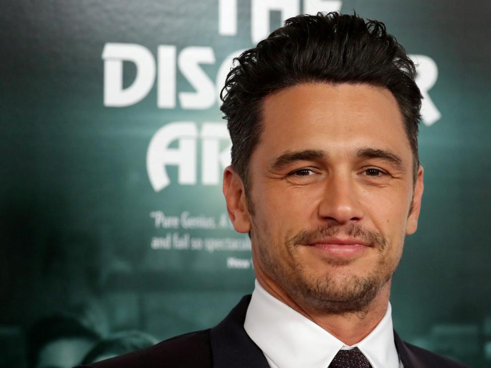 James Franco fue acusado de acoso sexual por tres actrices tras ganar un Globo de Oro.