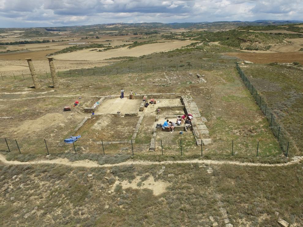 Durante este año se excavará en la zona doméstica del yacimiento, en la fotografía.