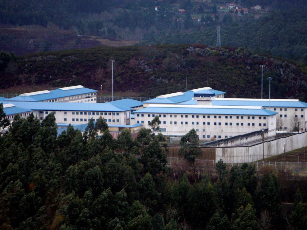 Vista de la cárcel de A Lama