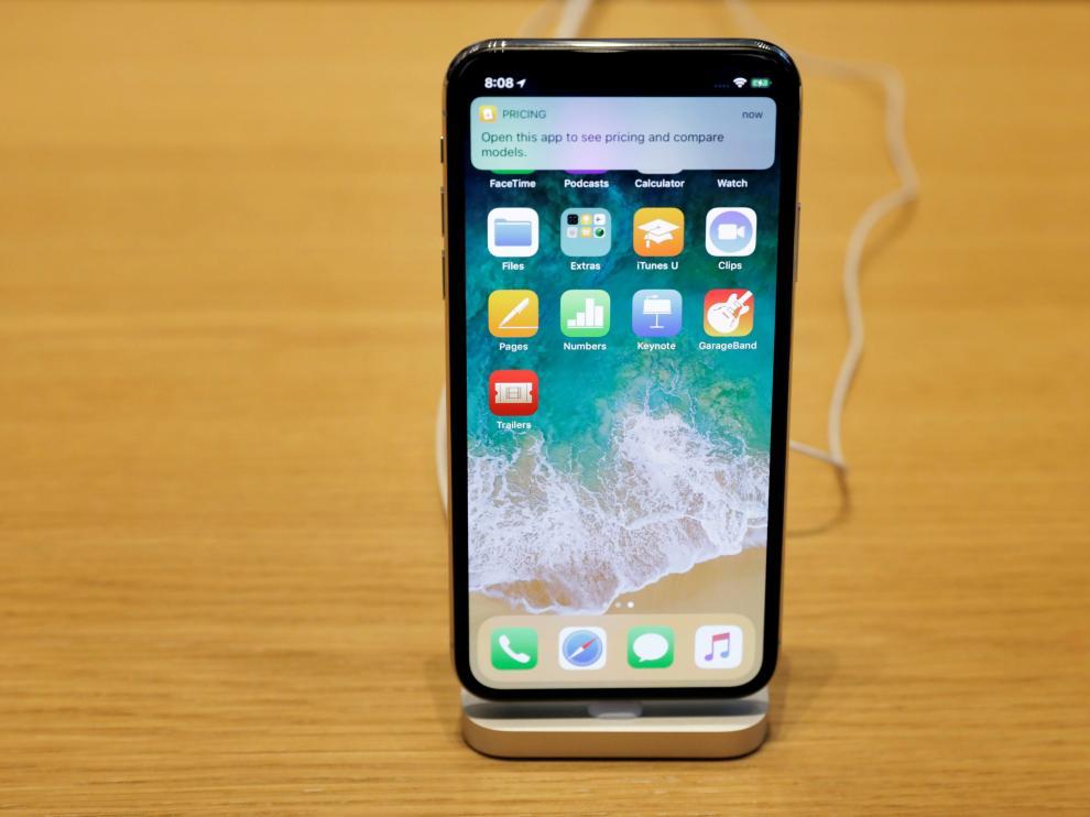 El iPhone X salió a la venta el pasado 3 de noviembre.