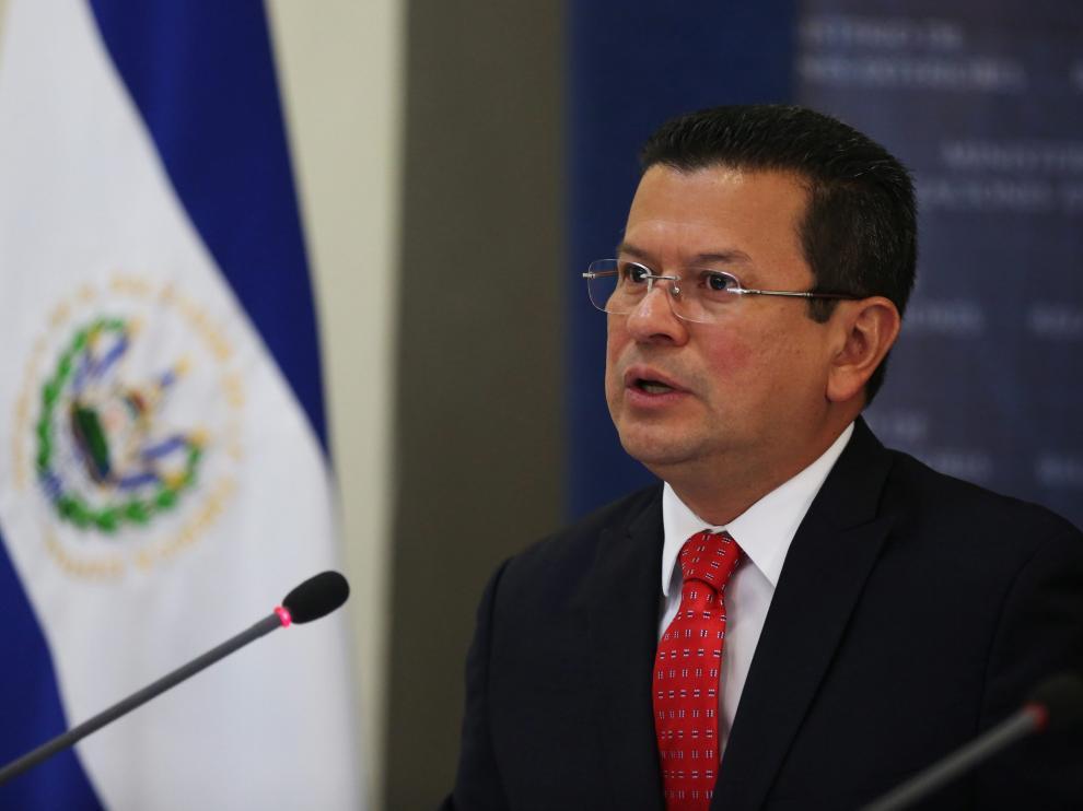 Hugo Martínez, canciller de El Salvador.
