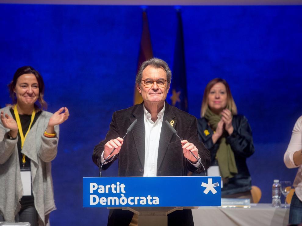 Artur Mas abandona la presidencia de PDeCAT.