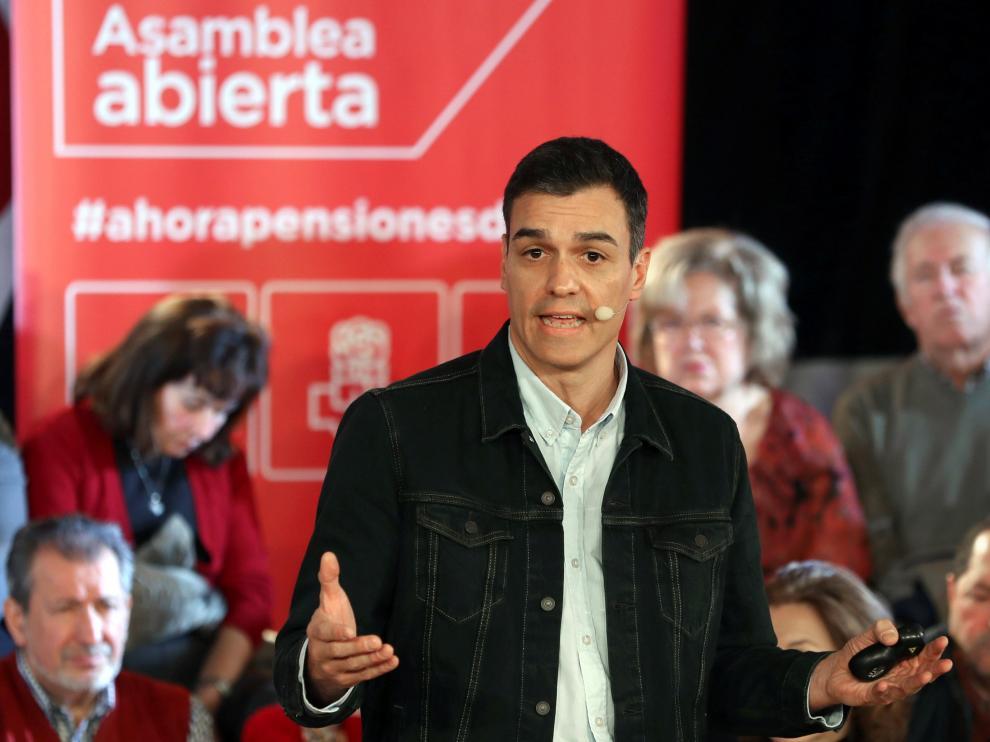 El secretario general, Pedro Sánchez.