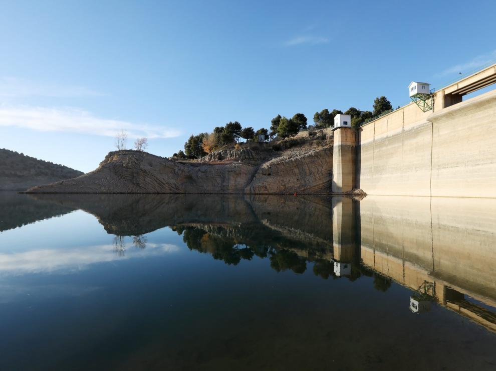 El pantano del Arquillo está en sus niveles más bajos desde 1995.