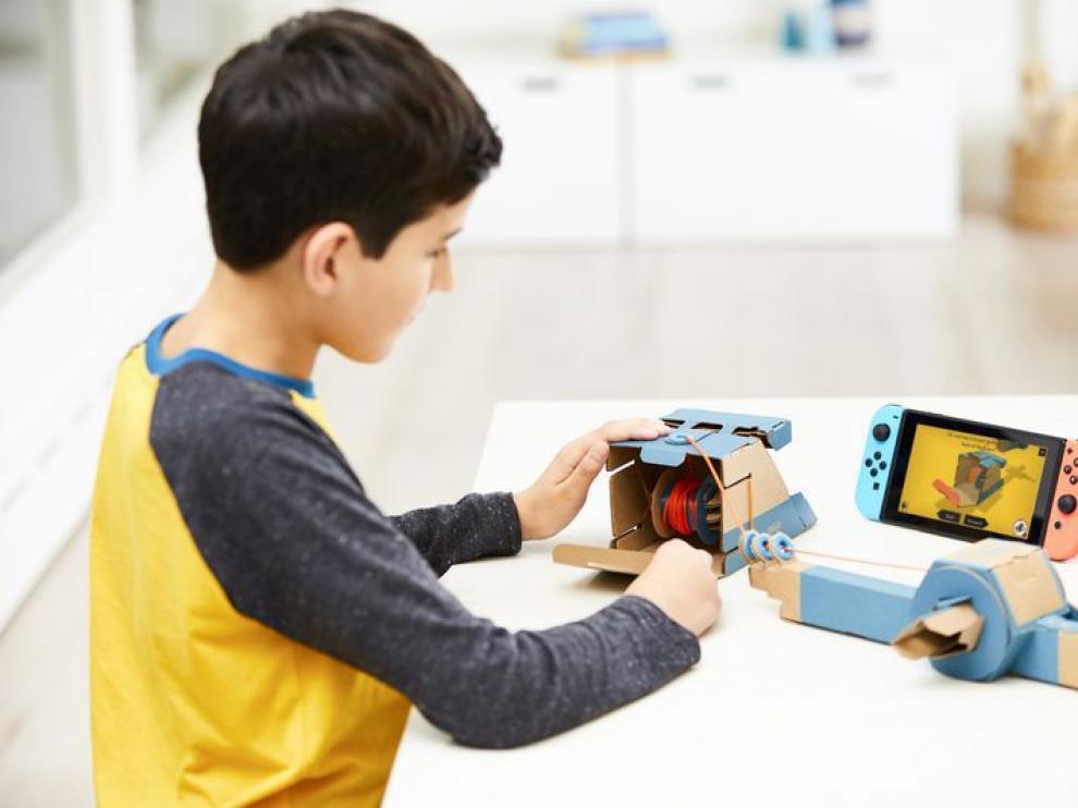 Nintendo Labo usa cartón para crear una nueva forma de jugar