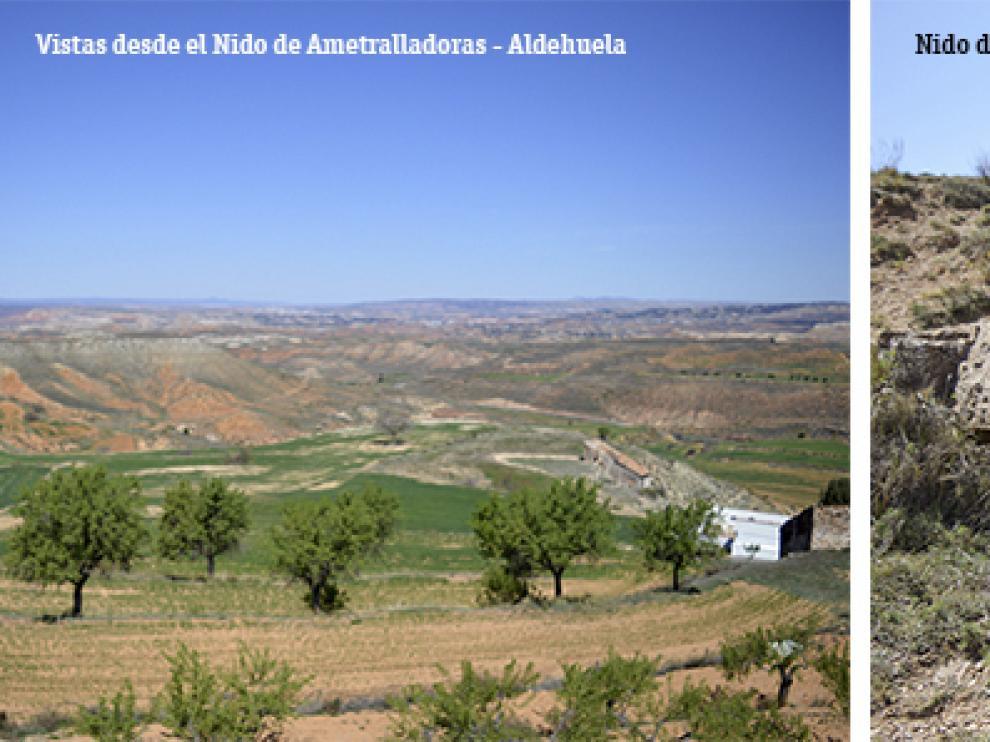Nido de ametralladoras - Aldehuela