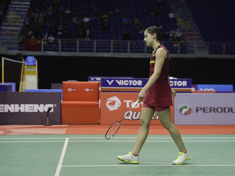 Carolina Marín cae en semifinales del Masters de Malasia