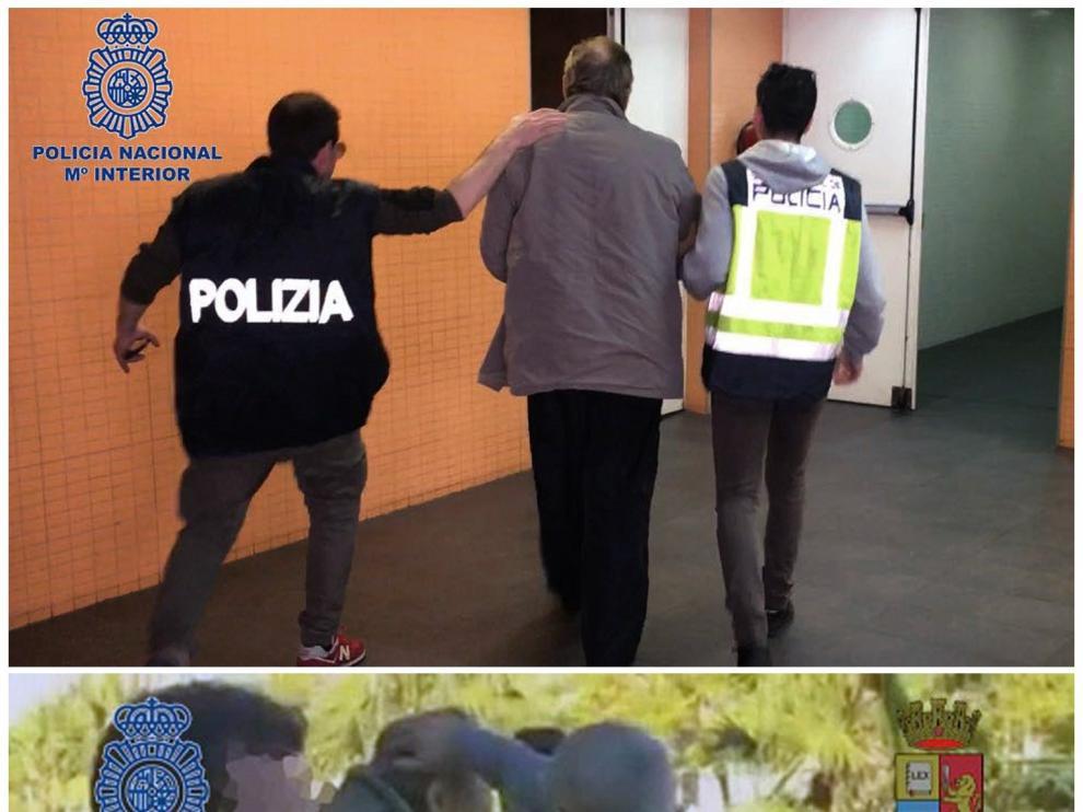 Pellegrinetti, detenido en Alicante