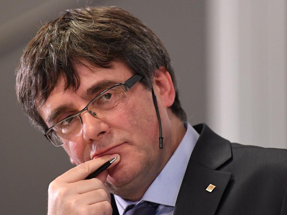 El acto en el que participará Puigdemont está previsto para el 27 de febrero.
