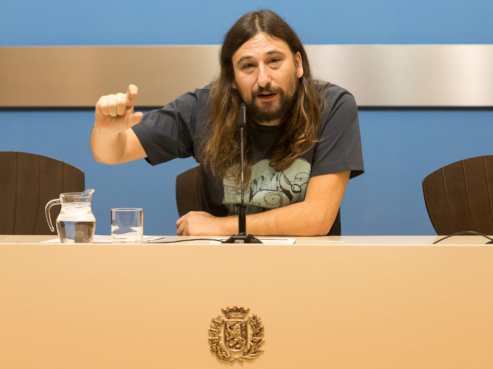 Pablo Híjar, concejal de Deporte del Ayuntamiento de Zaragoza.