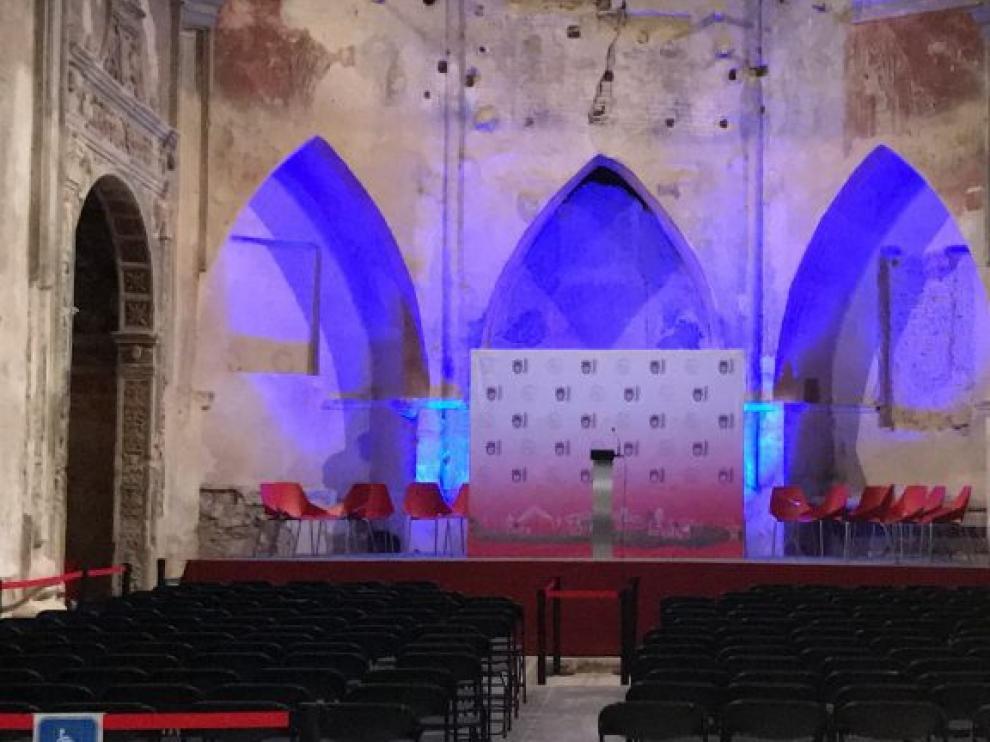 Interior de El Piquete tras su restauración.