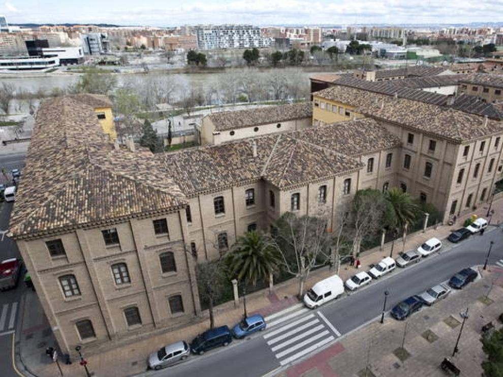 Imagen del antiguo instituto Luis Buñuel
