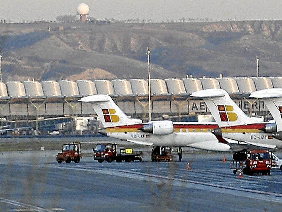 El avión salía del aeropuerto de Madrid Barajas con destino a Cali (Colombia).