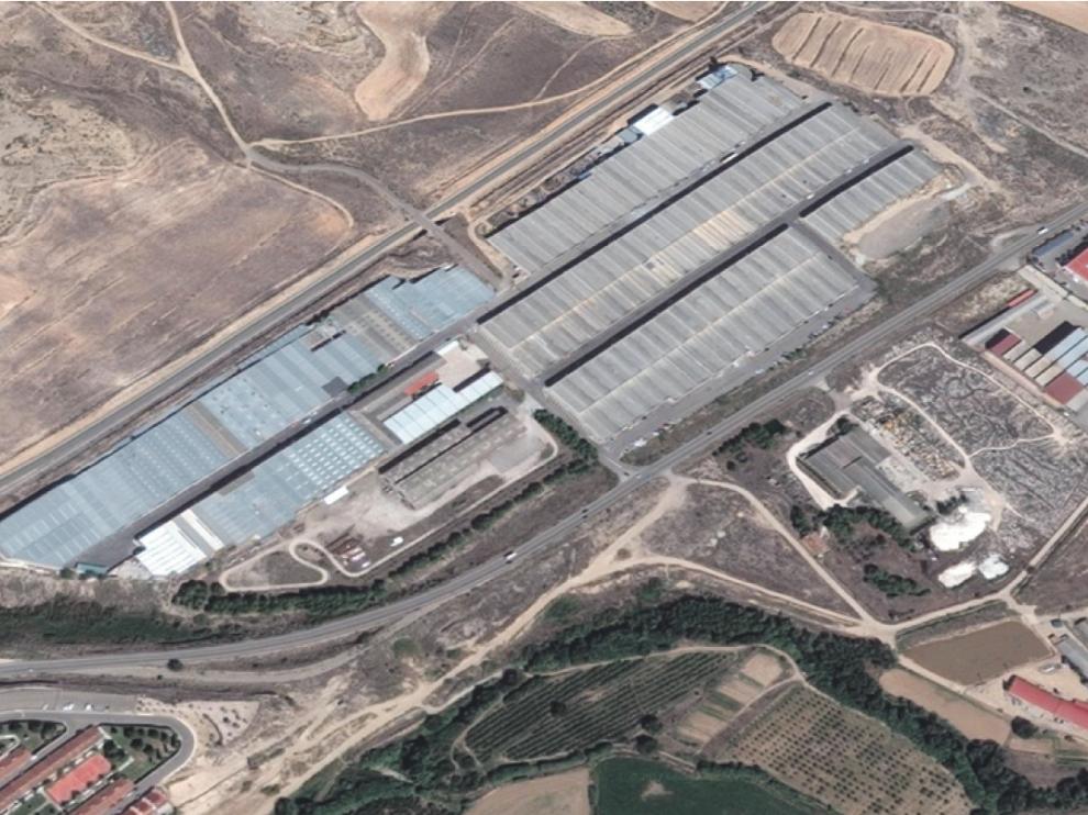 El Plano-Las Canales, el polígono industrial de María de Huerva.