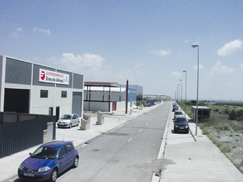 Montecillo, el polígono industrial de Magallón.