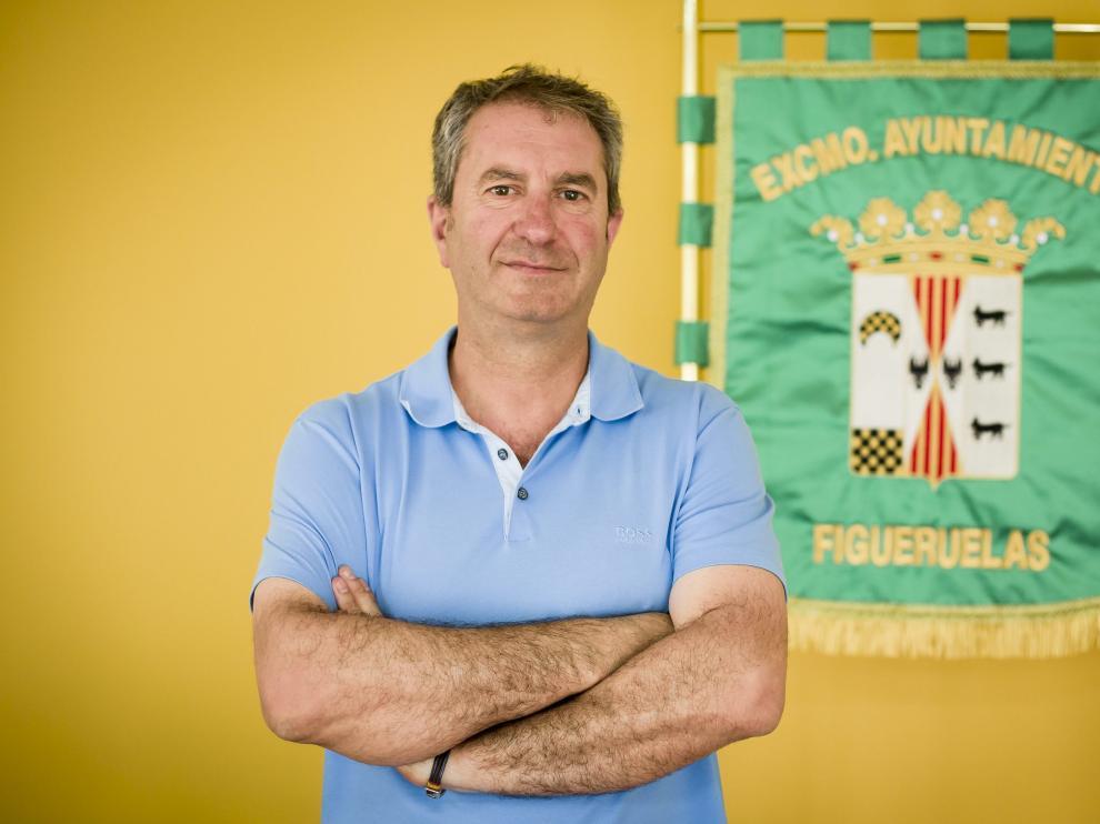 El alcalde de Figueruelas, el popular Luis Bertol.