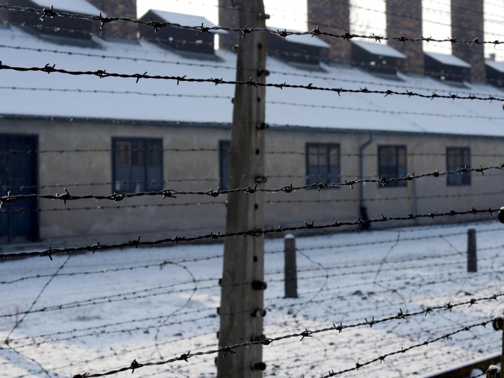 Fotografía del campo de exterminio nazi de Auschwitz (Birkenau)