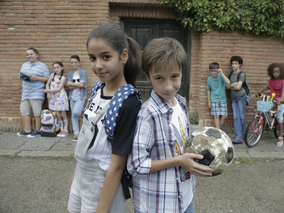Los nueve niños que forman parte del reparto fueron elegidos entre más de 3.000 aspirantes.