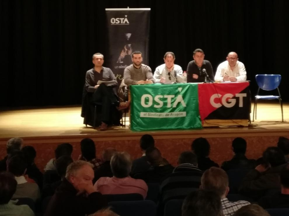 Asamblea Osma y CGT