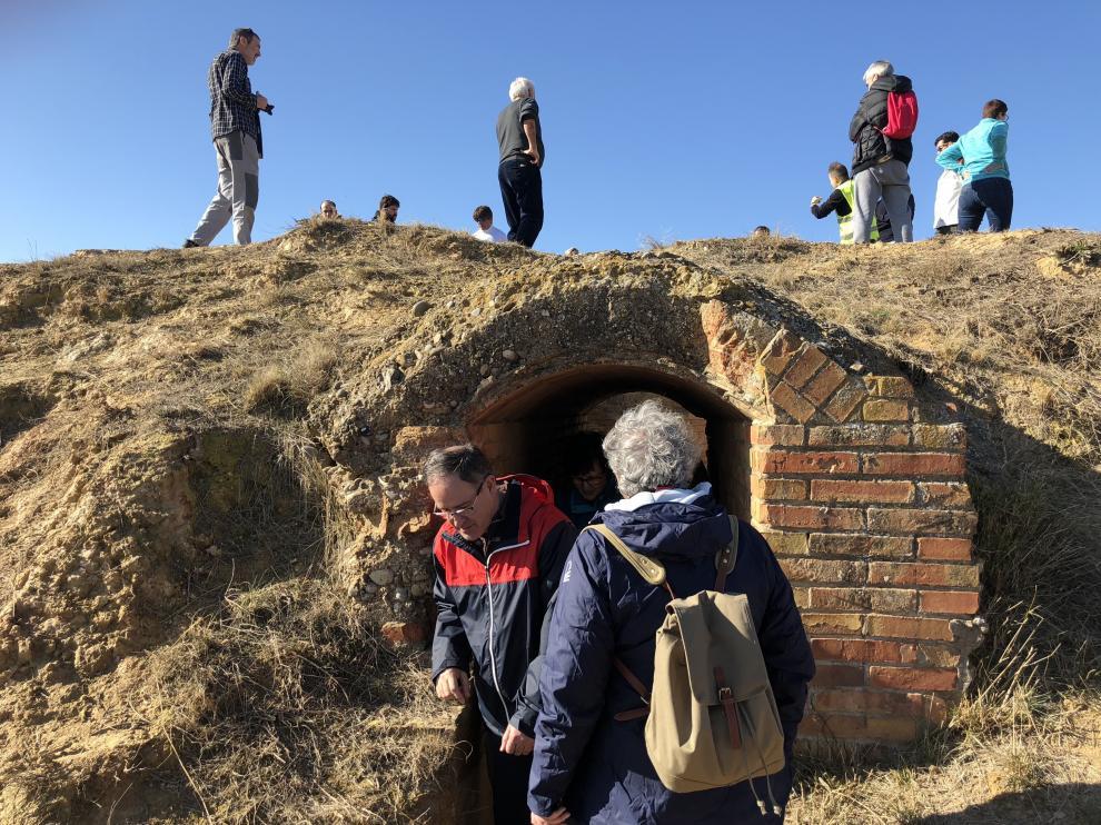 Fortificaciones de la Línea del Cinca de la Guerra Civil en Selgua