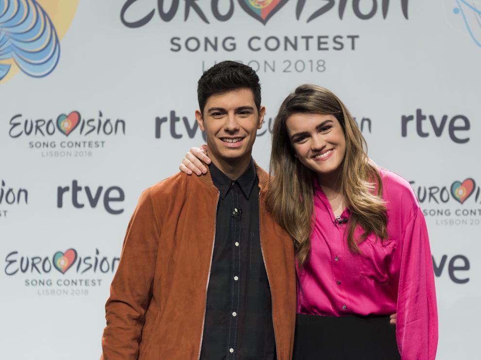 Alfred junto a Amaia, ganadora de 'Operación Triunfo'.