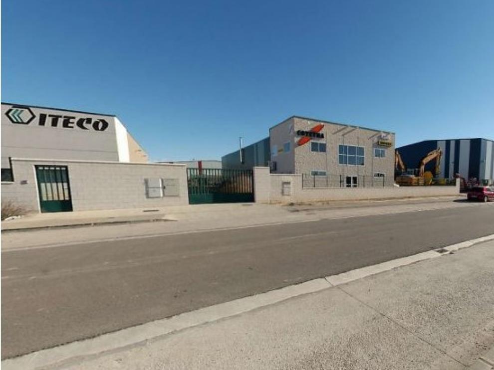 Imagen del polígono industrial de Llanos de la estación.