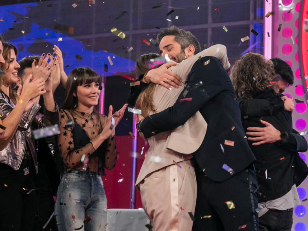 Momentos después de saber quién representará a España en Eurovisión