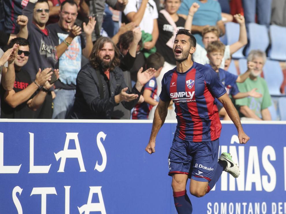 Lluis Sastre, jugador de la S.D. Huesca.