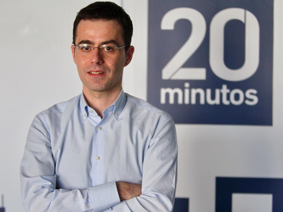 El periodista zaragozano Jesús Morales, nuevo subdirector de '20minutos'.