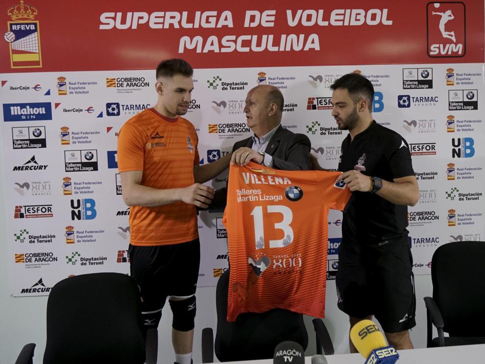De Izquierda a derecha, Andrés Villena, Carlos Ranera y Miguel Rivera
