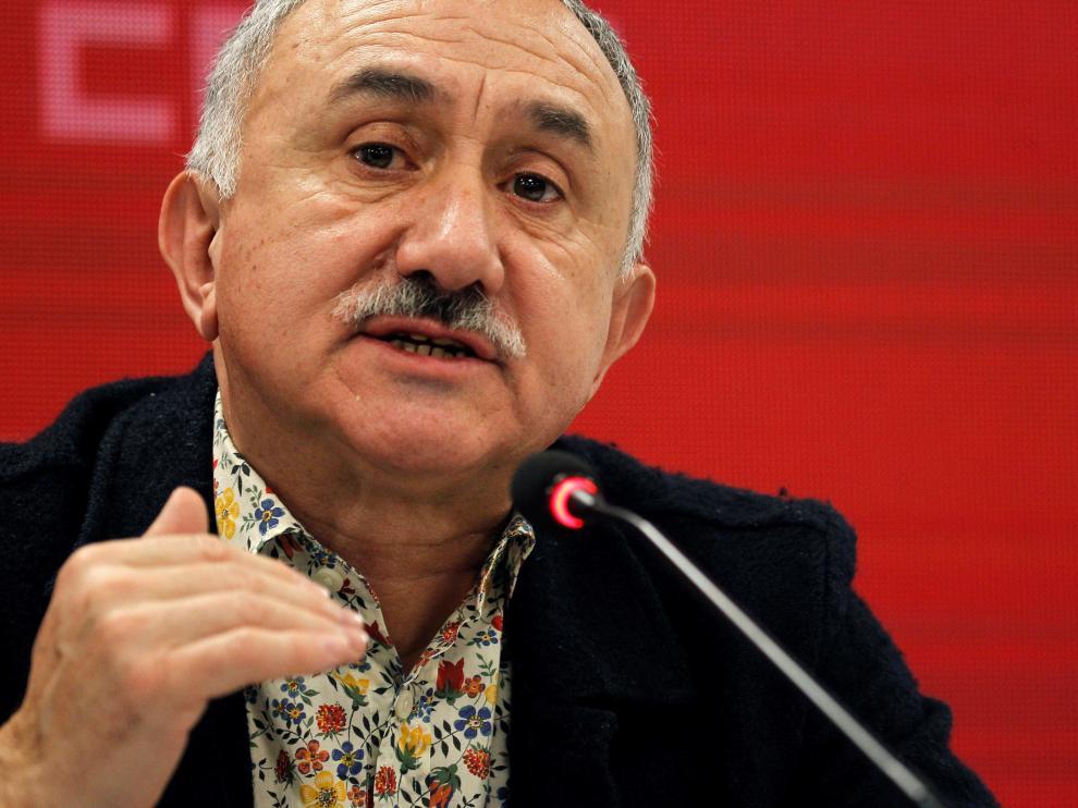 José María Álvarez, secretario general de UGT