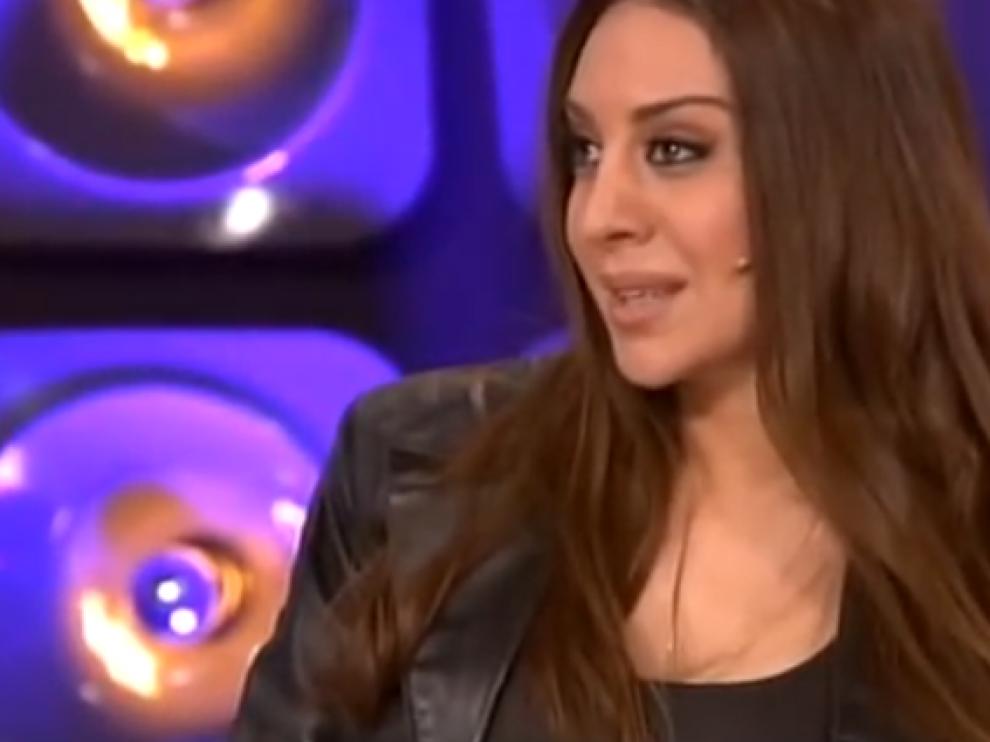 Mónica Naranjo en el programa en el que Amaia fue expulsada.