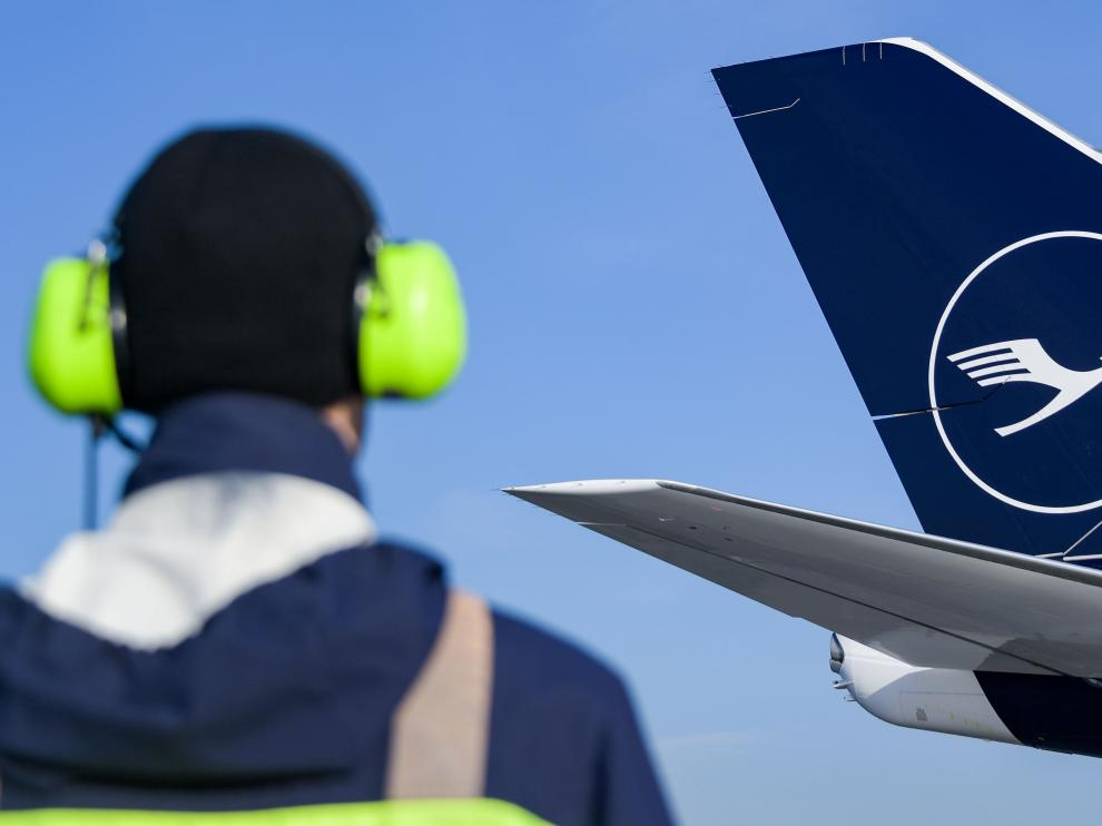 Nuevo logotipo de la aerolínea.
