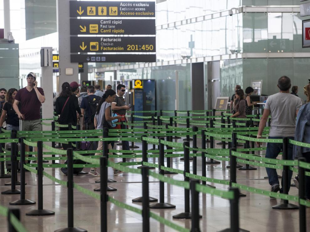 Aeropuerto de Barcelona.