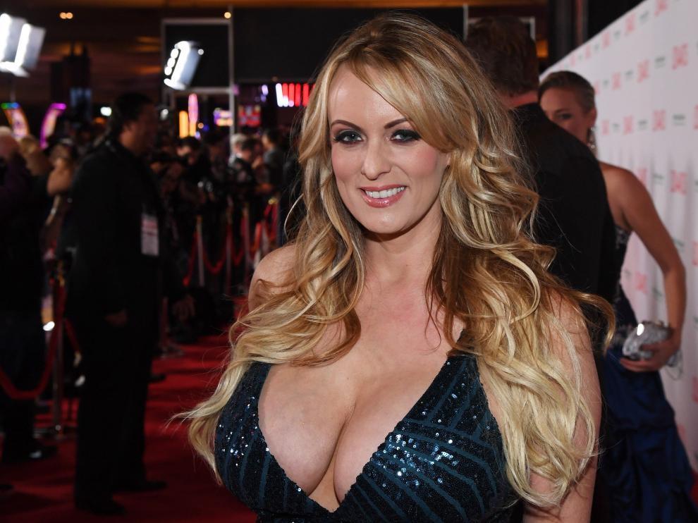 La estrella del porno Stephanie Clifford, cuyo nombre artístico es Stormy Daniels.