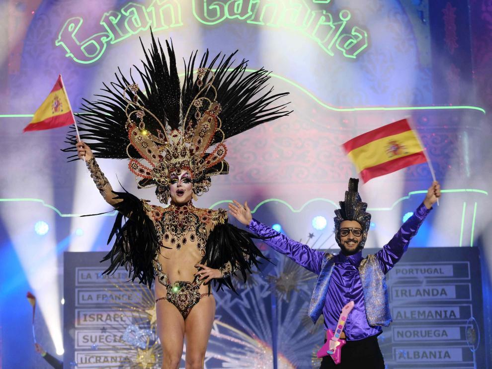 La ganadora, la drag 'La Tullida'