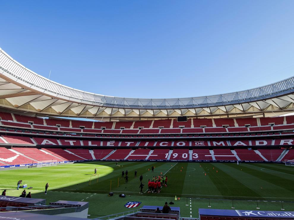 Estadio Wanda Metropolitano en Madrid
