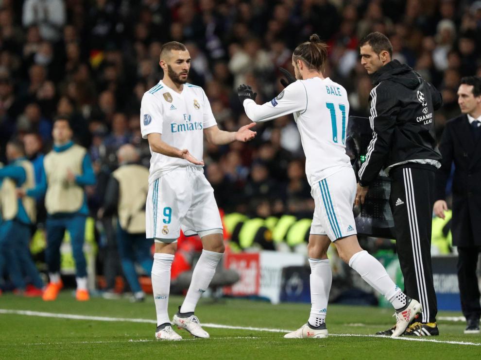 Imágenes del partido Real Madrid-PSG