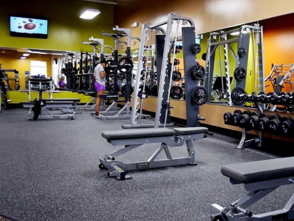 Gimnasio Anytime Fitness.