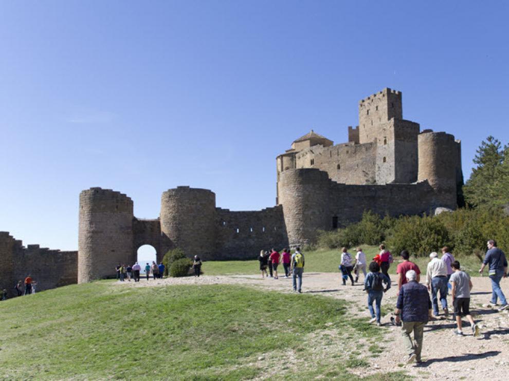 El castillo de Loarre es uno de los principales atractivos de la zona.